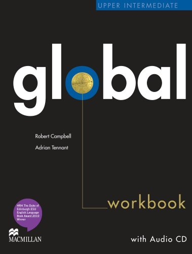 9780230430303: Global Upper Intermediate Workbook without Answer Key with Audio CD