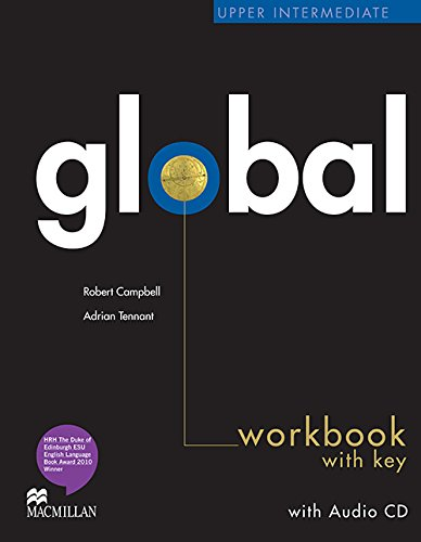 9780230430310: Global Upper Intermediate Workbook with Answer Key & Audio CD