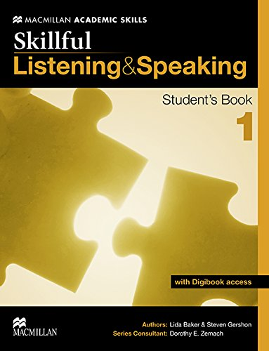 9780230431911: Skillful -Listening and Speaking Student's Book and Digibook Level 1 (MacMillan Academic Skills)