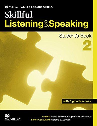 9780230431935: Skillful. Listening & speaking. Student's book. Con espansione online. Per le Scuole superiori: SKILLFUL 2 Listening & Speaking Sb Pk