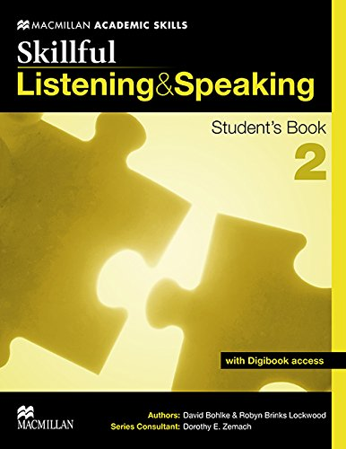 9780230431935: Skillful Listening and Speaking Student's Book + Digibook Level 2 (MacMillan Academic Skills)