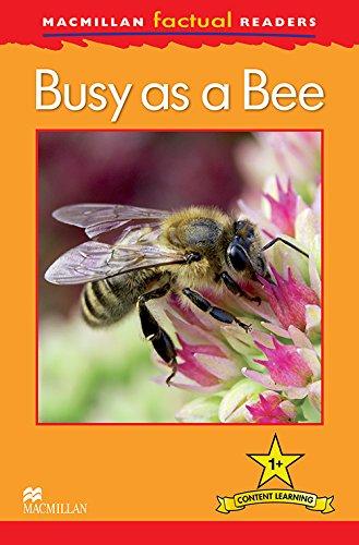 9780230432055: Macmillan Factual Readers - Busy as a Bee - Level 1