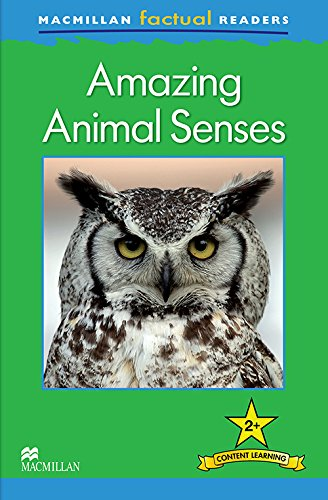 9780230432062: Macmillan Factual Readers Level 2+: Amazing Animal Senses