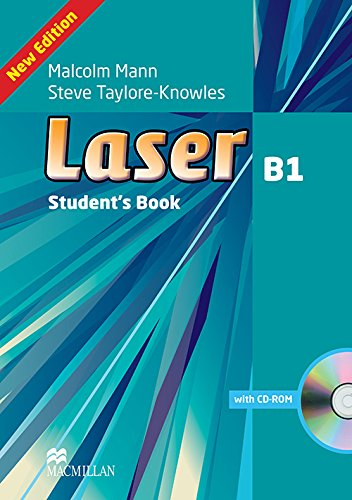 9780230433526: Laser B1 Student's Book and CD ROM Pack