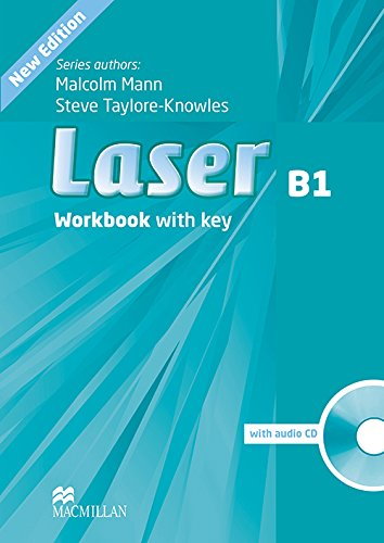 9780230433533: Laser Workbook B1 with key and CD Pack