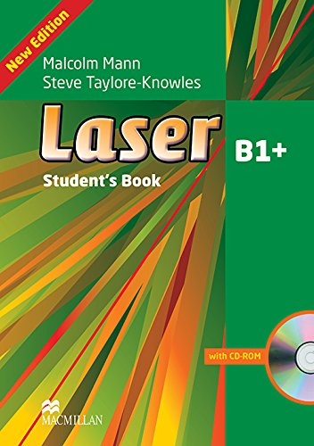 Laser Student's Book Andcd-Rom Pack Level B1+ (Laser 3rd Edition B1): Mann, Malcolm