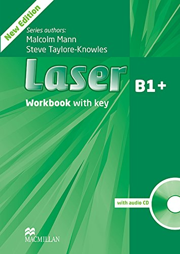 9780230433687: Laser Workbook + Key and CD Pack Level B1+