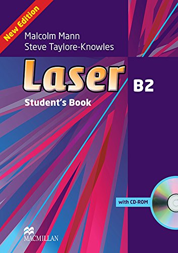 9780230433823: Laser B2 Student Book + CD - ROM Pack