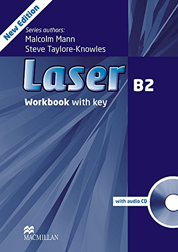 9780230433830: Laser B2 Workbook with Key and CD Pack Third Edition (Laser 3rd Edition B2)