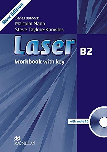9780230433830: Laser Workbook (+ Key) + CD Pack Level B2