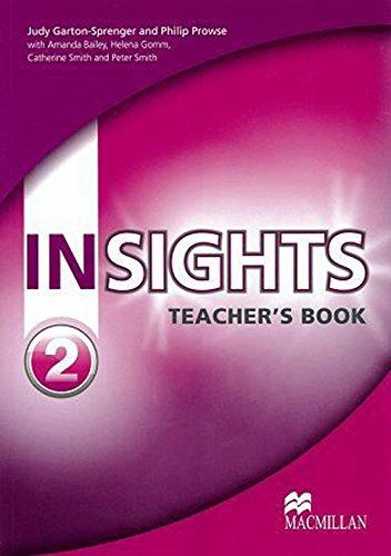 9780230434103: Insights Teacher's Book Pack Level 2