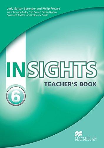 9780230434349: Insights Teacher's Book Pack Level 6