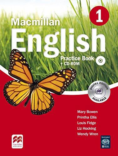 9780230434561: Macmillan English 1 Practice Book with CD-ROM
