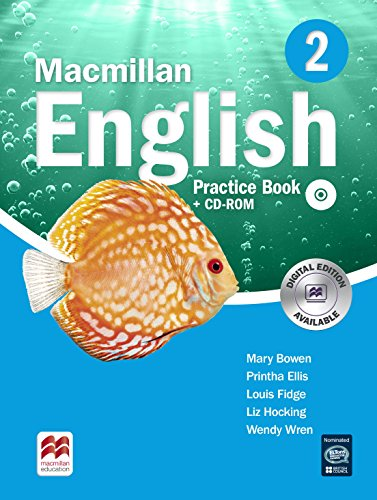 9780230434578: Macmillan English 2 Practice Book with CD-ROM