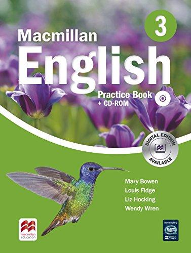 9780230434585: Macmillan English 3 Practice Book with CD-ROM