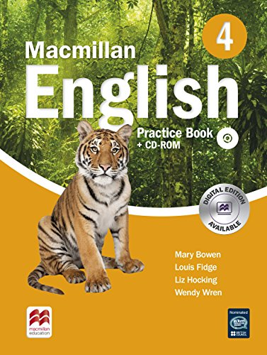 9780230434592: Macmillan English 4 Practice Book with CD-ROM