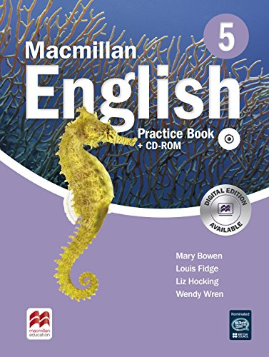 9780230434608: Macmillan English Practice Book and CD-ROM Pack New Edition Level 5