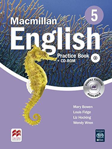 9780230434608: Macmillan English 5 Practice Book with CD-ROM