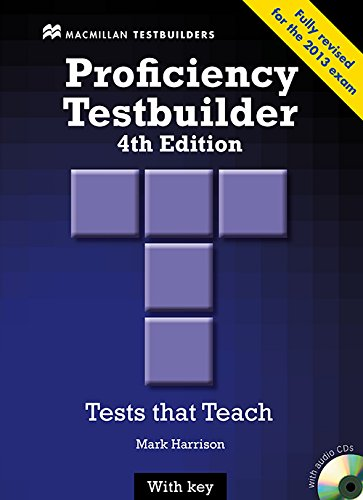 9780230436923: New Proficiency Testbuilder Student Book + Key Pack
