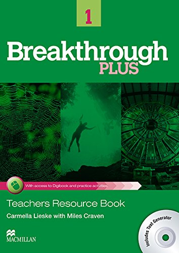 9780230438156: Breakthrough Plus Teacher's Book + Digibook Code + Test Gene