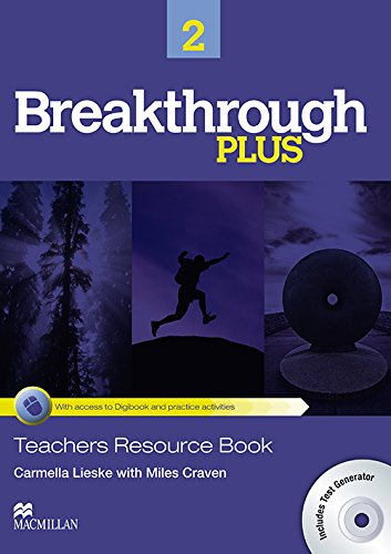 9780230438224: Breakthrough Plus Teacher's Book + Digibook Code + Test Gene