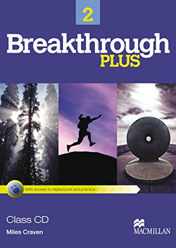9780230438231: Breakthrough 2 Plus - Class Audio CDs