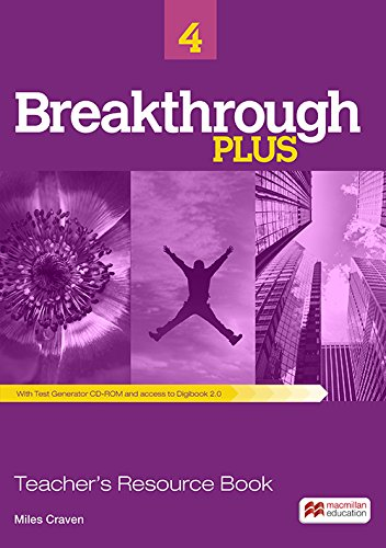 9780230438354: Breakthrough Plus Teacher's Book + Digibook Code + Test Gene
