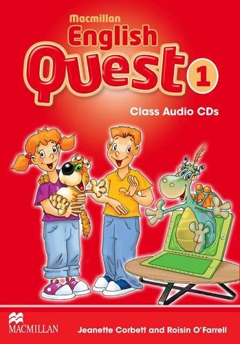 9780230439825: Macmillan English Quest Level 1: Class Audio CD