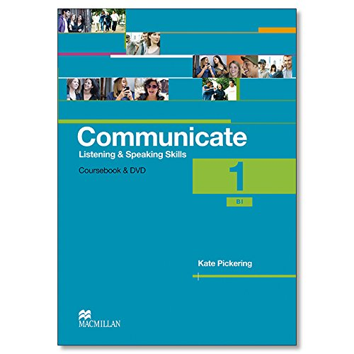 9780230440180: Communicate Listening and Speaking Skills 1: Student's Book