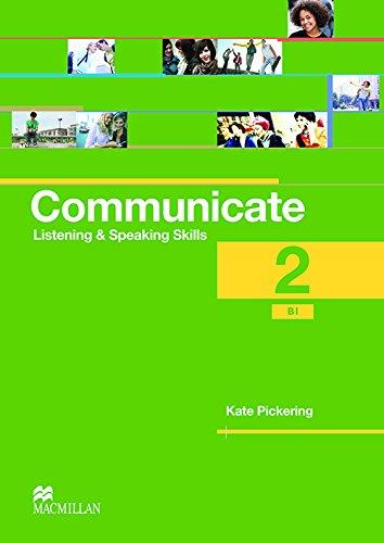 9780230440357: Communicate 2 / B1 - Listening and Speaking Skills - Coursebook