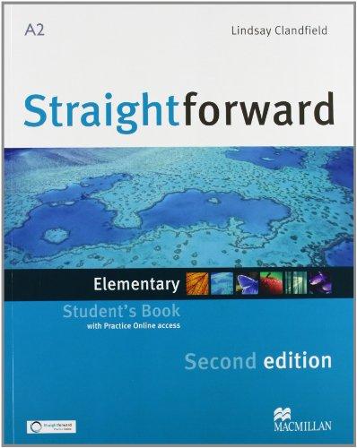 9780230441071: New Straightforward. Elementary. Student's book-Workbook. Con espansione online. Per le Scuole superiori