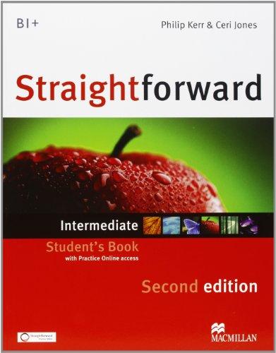 9780230441088: New Straightforward. Intermediate. Student's book-Workbook. Per le Scuole superiori. Con espansione online