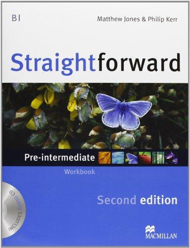 9780230441095: New Straightforward. Pre-intermediate. Student's book-Workbook. Con espansione online. Per le Scuole superiori