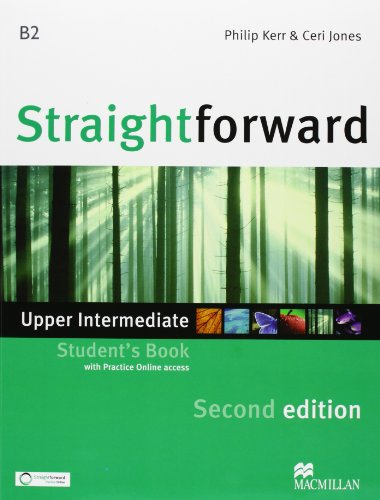 9780230441101: New Straightforward. Upper intermediate. Student's book-Workbook. Per le Scuole superiori. Con espansione online