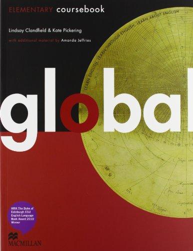 9780230441125: Global. Elementary. Student's book-Workbook. Con DVD: E-workbook. Con espansione online. Per le Scuole superiori