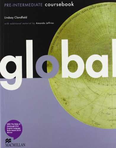 9780230441132: Global. Pre-intermediate. Student's book-Workbook. Per le Scuole superiori. Con DVD: E-workbook. Con espansione online