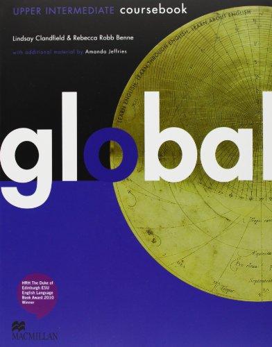 9780230441156: Global. Upper intermediate. Student's book-Workbook. Per le Scuole superiori. Con DVD: E-workbook. Con espansione online