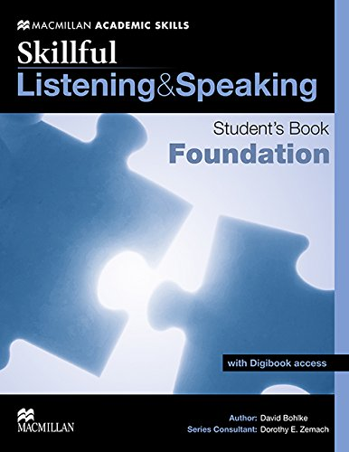 9780230443433: Skillful - Listening and Speaking - Foundation Level Student Book + Digibook