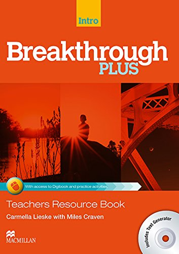 9780230443600: Breakthrough Plus Teacher's Book + Digibook Code + Test Generator Introduction Level