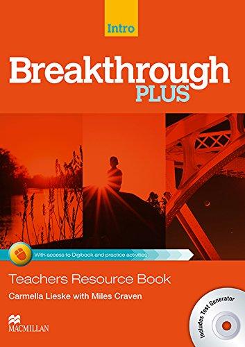 9780230443600: Breakthrough Plus Teacher's Book + Digibook Code + Test Generator Introduction Level