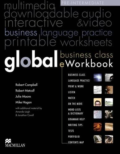 9780230443754: Global Pre-Intermediate Business e-Workbook Pack