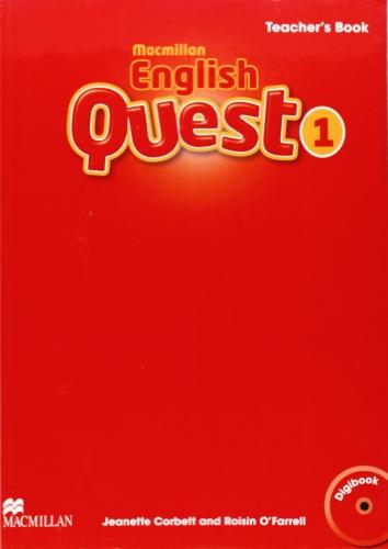 9780230443815: Macmillan English Quest Teacher's Book + Digibook Pack