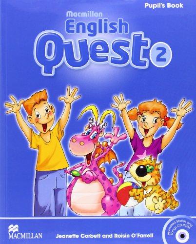 9780230443822: Macmillan English Quest Pupil's Book Level 2 + CD