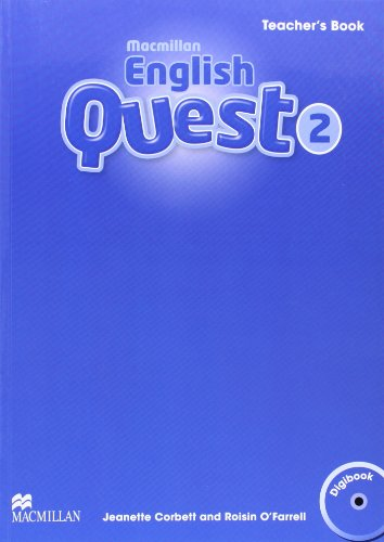 9780230443839: Macmillan English Quest Level 2: Teacher's Book + Digibook Pack