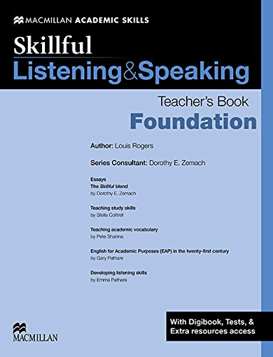 Skillful Listening and Speaking Teacher's Book +: Louis Rogers