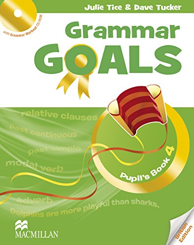 9780230445901: Grammar Goals - Level 4 - Student's Book & CD Rom - British English