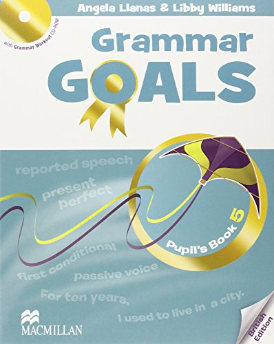 9780230445970: Grammar Goals - Level 5 - Student's Book & CD Rom - British Edition