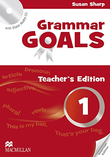 9780230446137: American Grammar Goals: Teacher's Book Pack Level 1 (Grammar Goals American English)