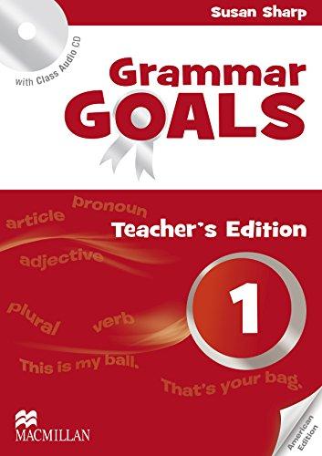 9780230446137: American Grammar Goals: Level 1: Teacher's Book Pack