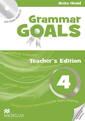 9780230446342: American Grammar Goals: Teacher's Book Pack Level 4
